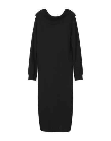 Фото 2 - Платье до колена от TWINSET черного цвета