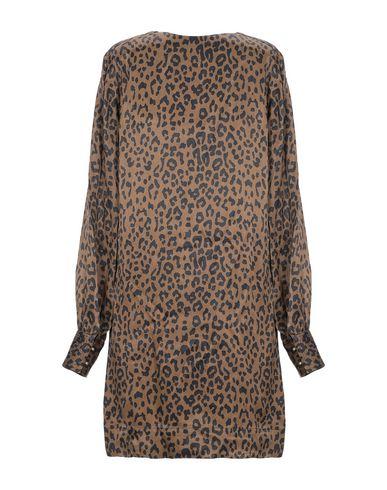 Фото 2 - Женское короткое платье SWILDENS цвета хаки