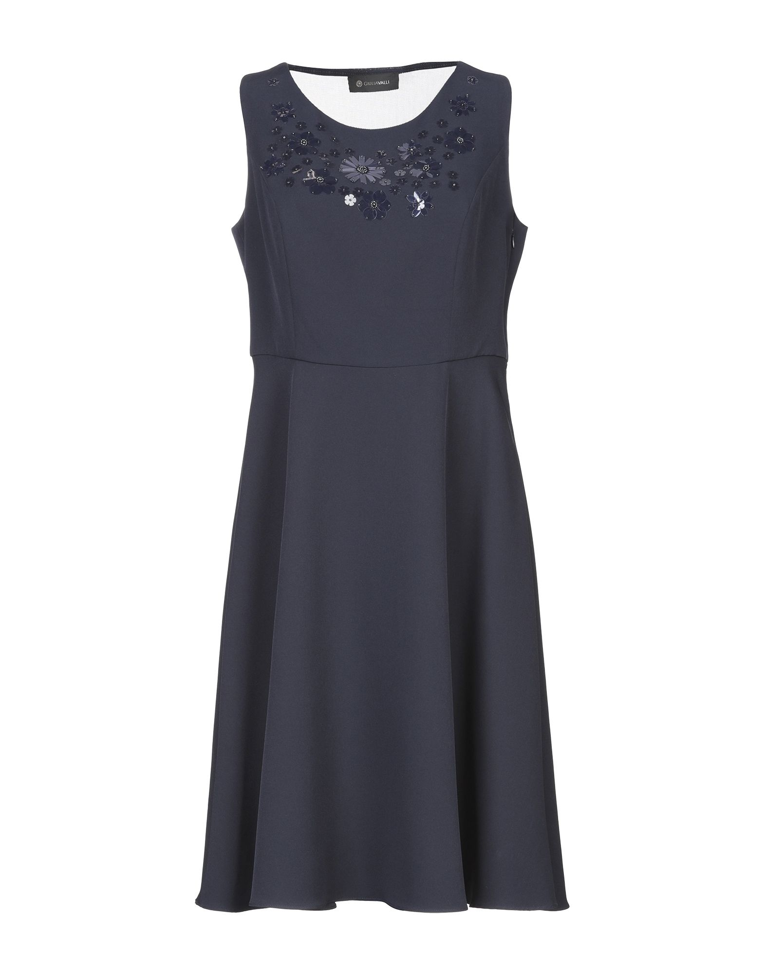 GIULIA VALLI Платье до колена недорго, оригинальная цена