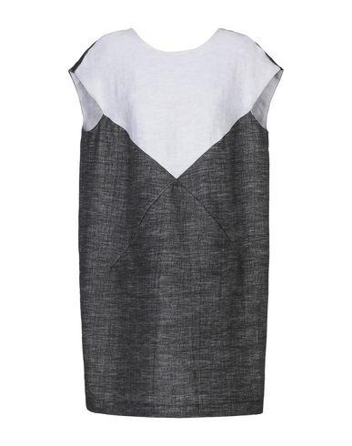 Фото - Женское короткое платье D-ROSS цвет стальной серый