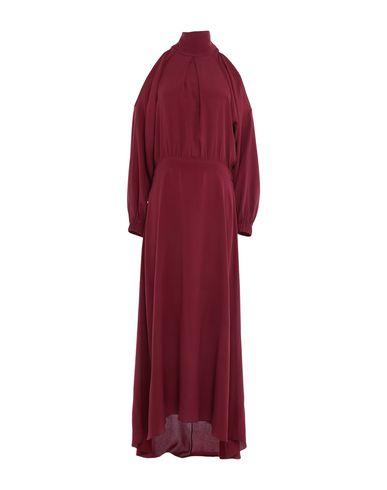 Купить Женское длинное платье CARLA G. красно-коричневого цвета