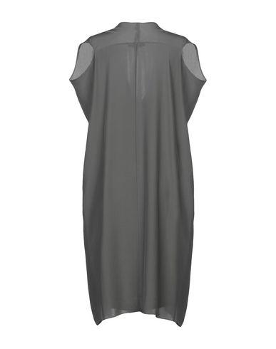 Фото 2 - Платье до колена от LAMBERTO LOSANI цвет зеленый-милитари
