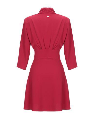 Фото 2 - Женское короткое платье SOUVENIR красного цвета
