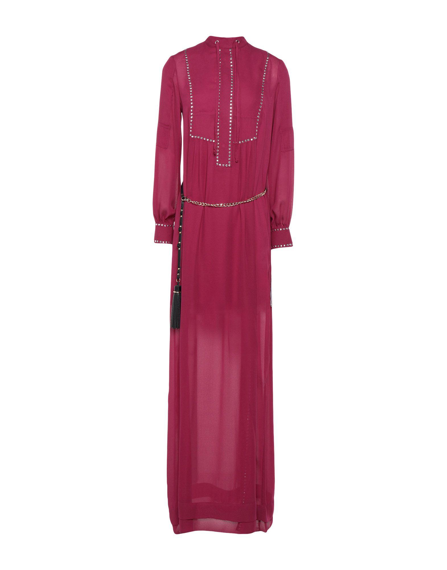 《セール開催中》BABYLON レディース ロングワンピース&ドレス ガーネット 42 ポリエステル 100%