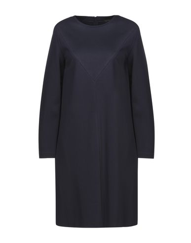 Фото - Платье до колена от ANTONELLI темно-синего цвета