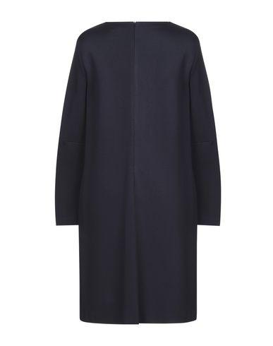 Фото 2 - Платье до колена от ANTONELLI темно-синего цвета
