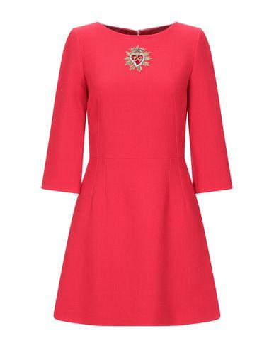 Купить Женское короткое платье  красного цвета