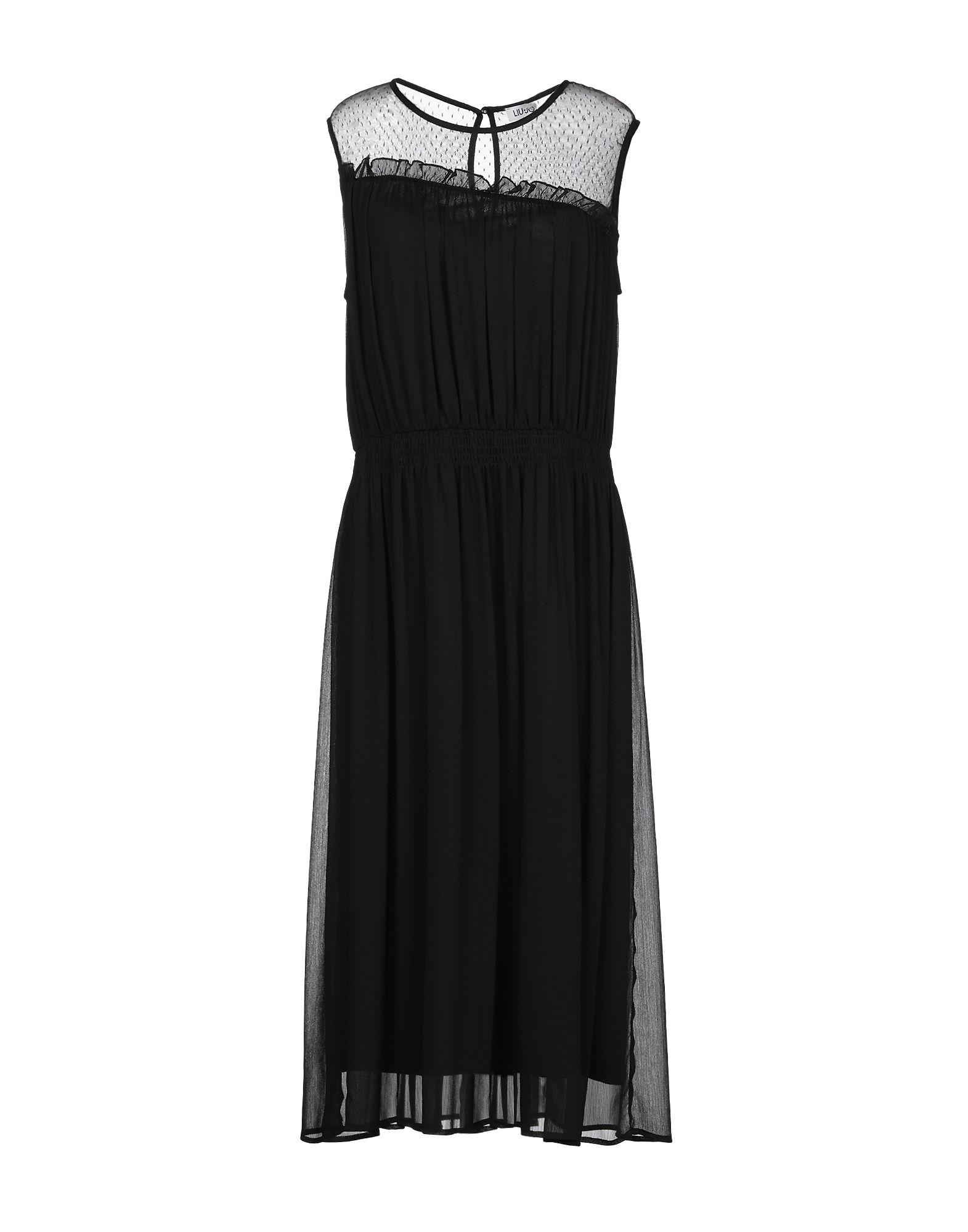 LIU •JO Платье длиной 3/4 недорого