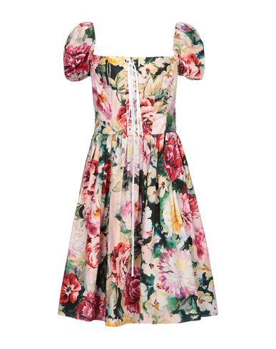 Купить Платье до колена светло-розового цвета