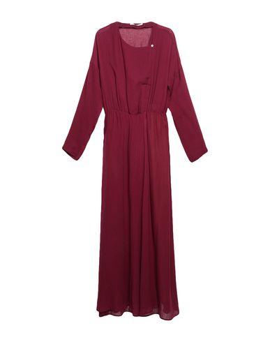 Фото - Женское длинное платье POMANDÈRE цвет баклажанный