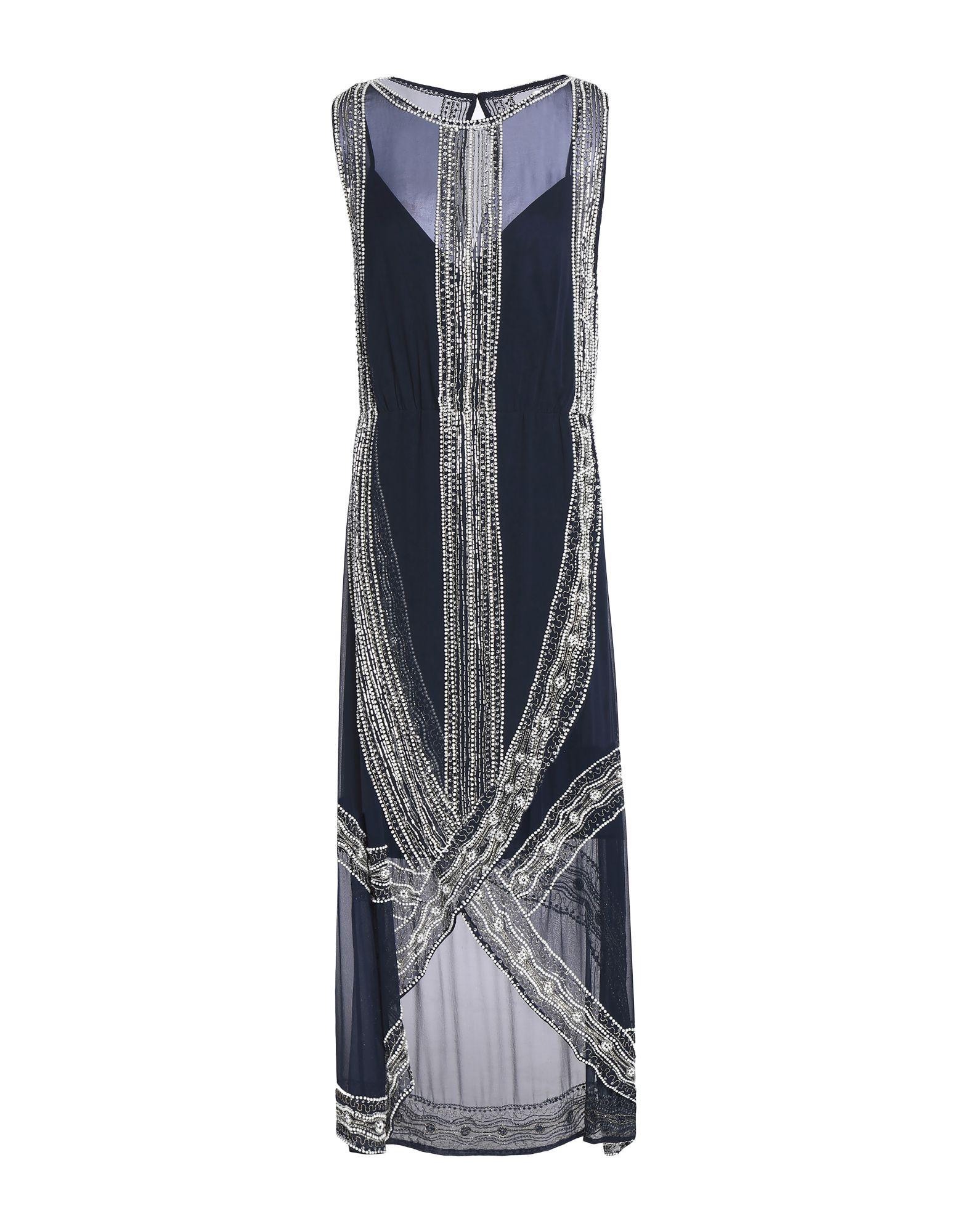 HAUTE HIPPIE Длинное платье