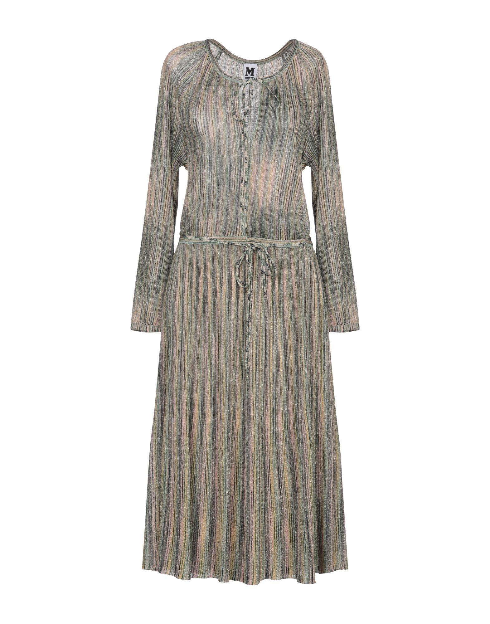 M MISSONI Платье длиной 3/4 m missoni платье длиной 3 4