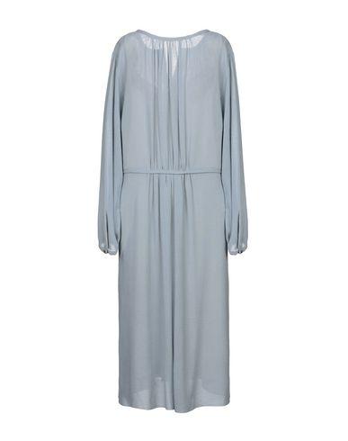 Фото 2 - Платье длиной 3/4 от POMANDÈRE небесно-голубого цвета