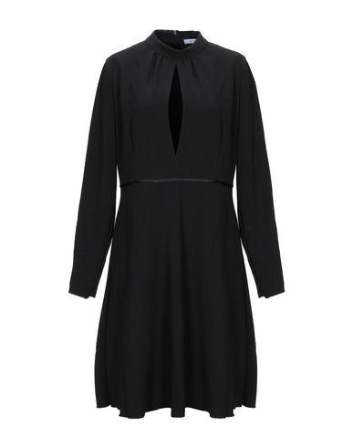 Купить Платье до колена от LANACAPRINA черного цвета