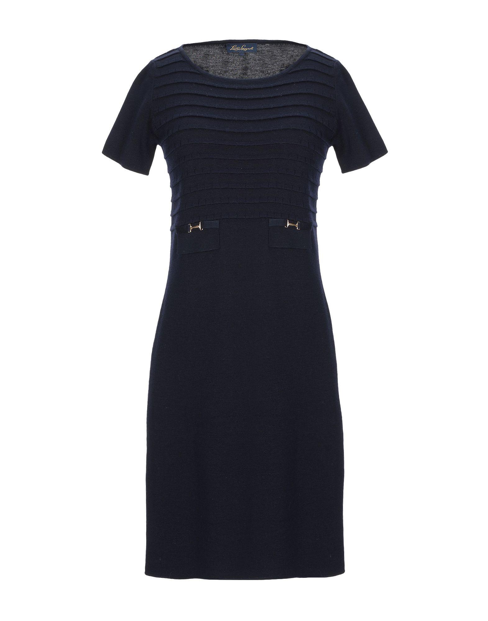 LUISA SPAGNOLI Короткое платье подвеска luisa spagnoli