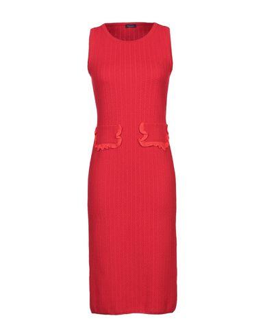 Фото - Платье до колена от NEERA красного цвета