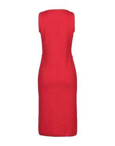 Фото 2 - Платье до колена от NEERA красного цвета