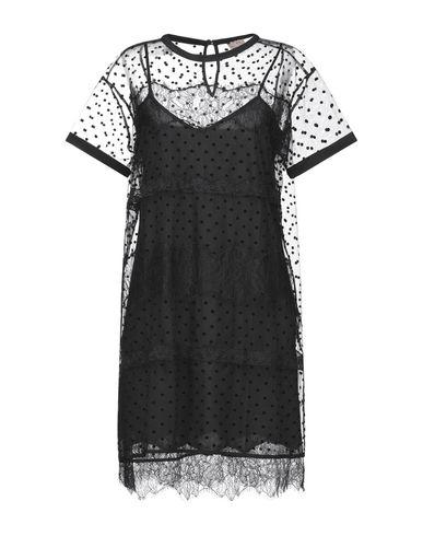 Купить Женское короткое платье TWINSET черного цвета