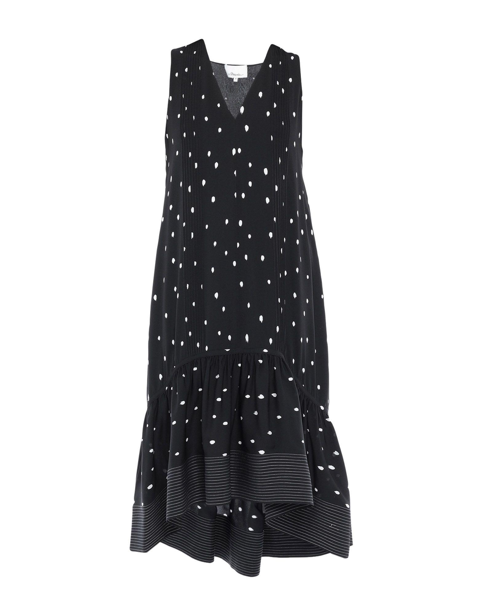3.1 PHILLIP LIM Платье длиной 3/4 3 1 phillip lim платье рубашка с цветочной отделкой