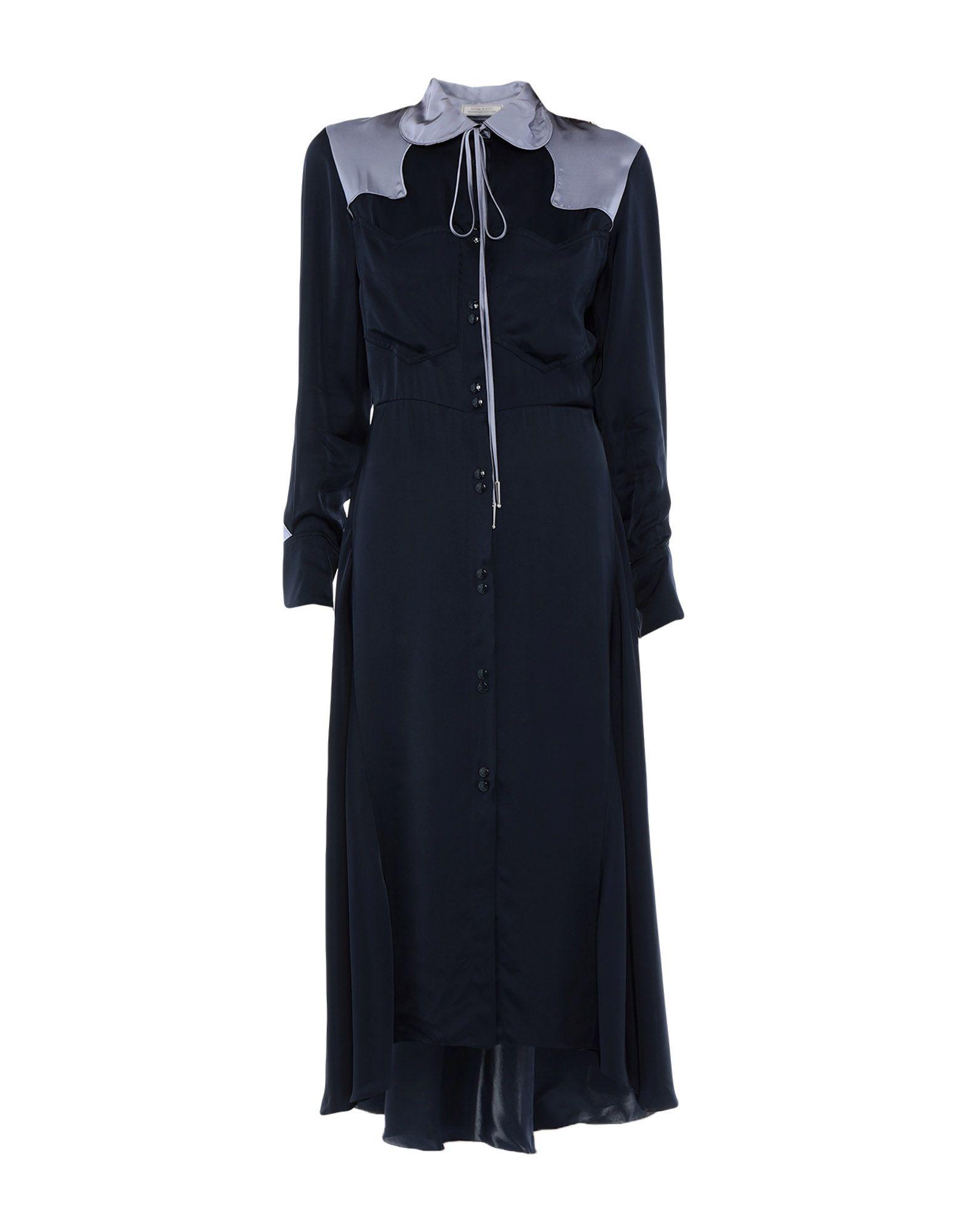 NINA RICCI Платье длиной 3/4 платье с поясом nina ricci