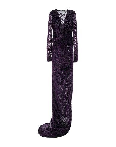 Фото - Женское длинное платье  розовато-лилового цвета