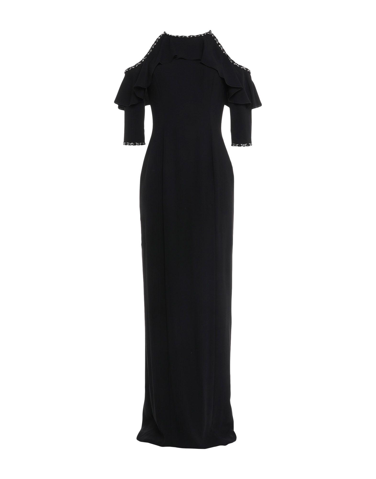 цена JENNY PACKHAM Длинное платье онлайн в 2017 году