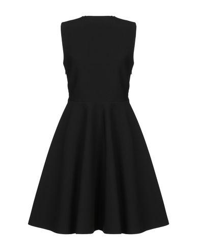 Фото 2 - Женское короткое платье MSGM черного цвета