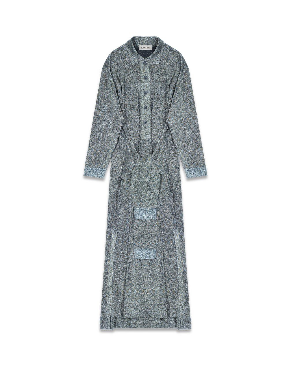 LONG LUREX DRESS - Lanvin