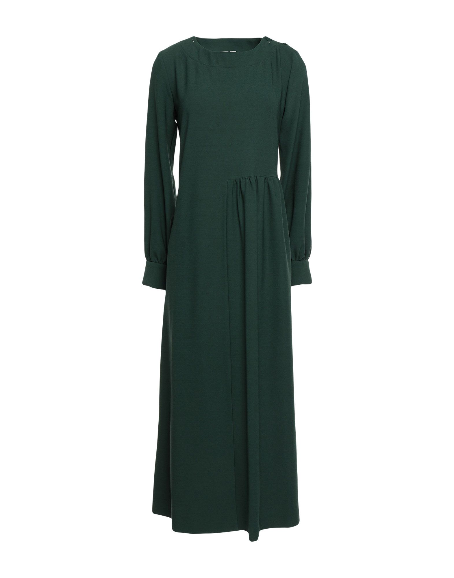 JUPE DE SATIN Платье длиной 3/4 jupe de satin длинное платье