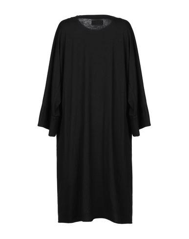 Фото 2 - Платье до колена от LABO.ART черного цвета