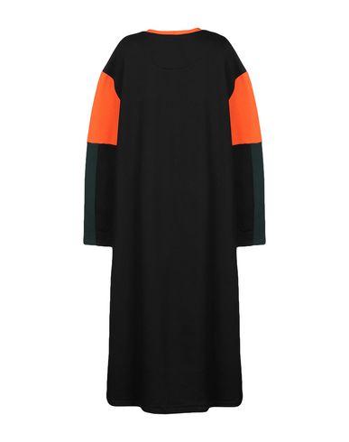Фото 2 - Платье длиной 3/4 от RIYKA черного цвета