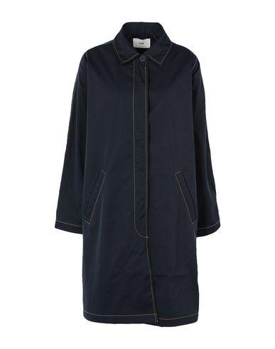 Фото - Женское пальто или плащ FOLK темно-синего цвета