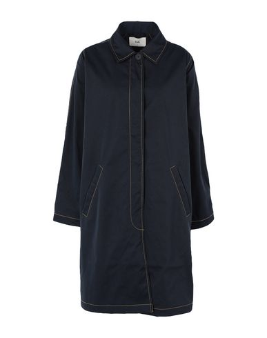 Фото - Легкое пальто от FOLK темно-синего цвета