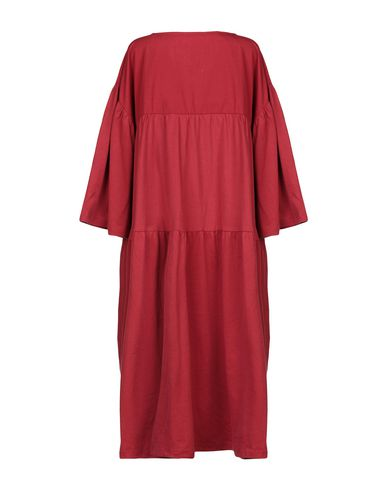 Фото 2 - Платье до колена от BEAUMONT ORGANIC красного цвета