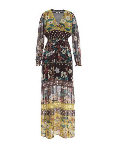Фото - Женское длинное платье  цвет какао