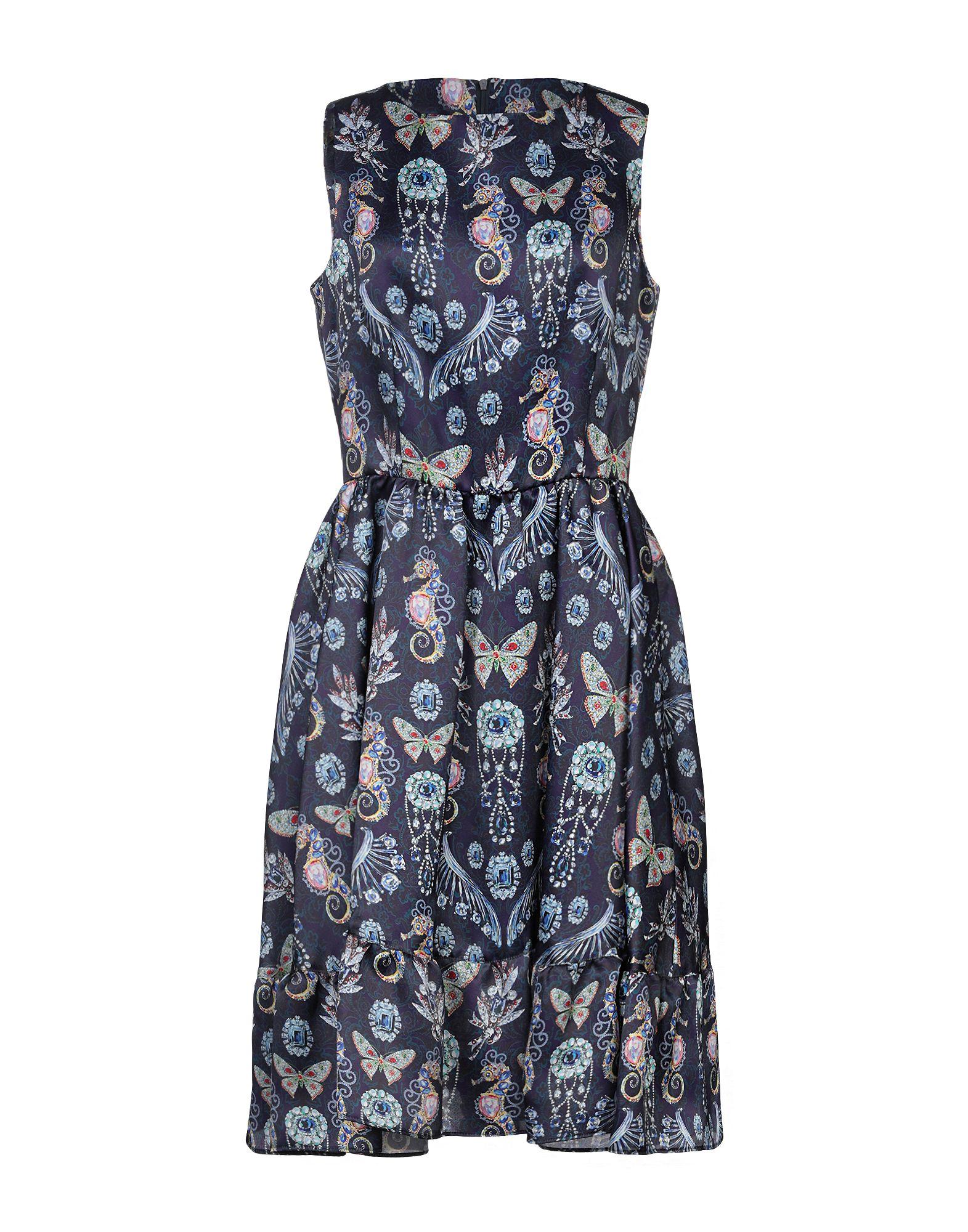 LEITMOTIV Платье до колена leitmotiv длинное платье