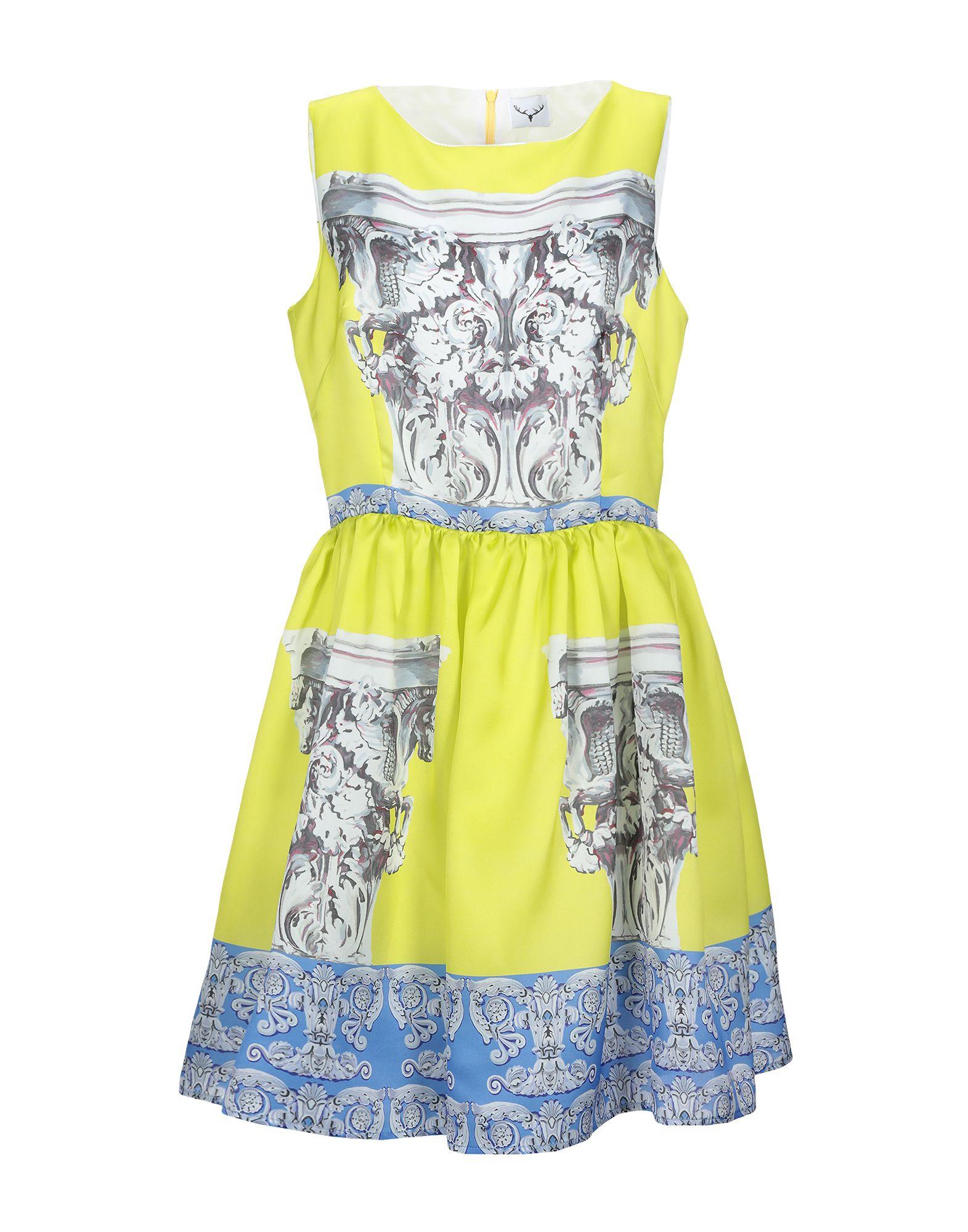 LEITMOTIV Короткое платье leitmotiv топ без рукавов