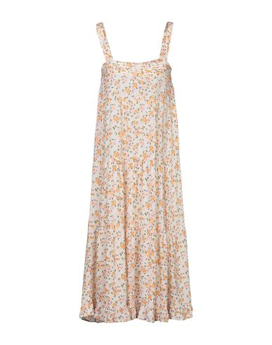 Фото 2 - Платье до колена цвет слоновая кость