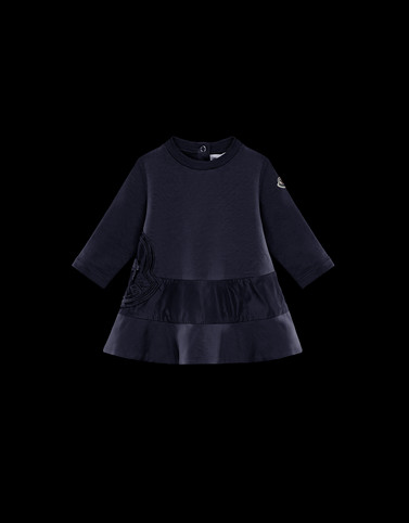 DRESS Dark blue Baby 0-36 months - Girl