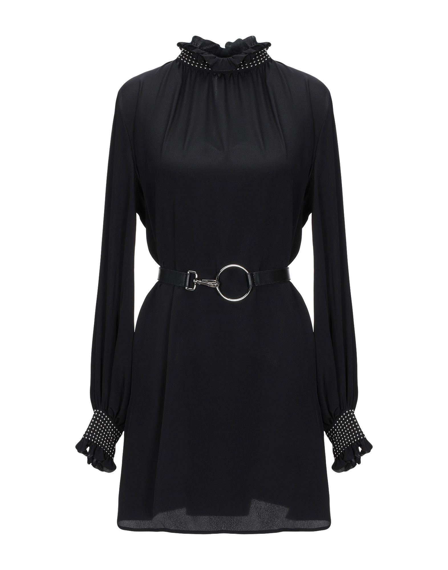 JOHN RICHMOND Короткое платье john richmond ремень