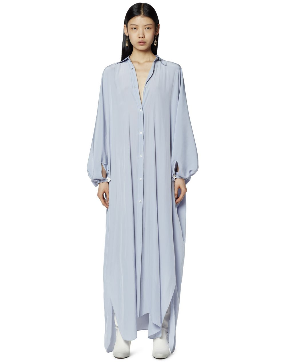 OVERSIZED SHIRT DRESS  - Lanvin
