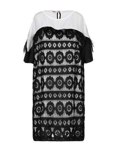 Фото - Женское короткое платье BIANCOGHIACCIO черного цвета