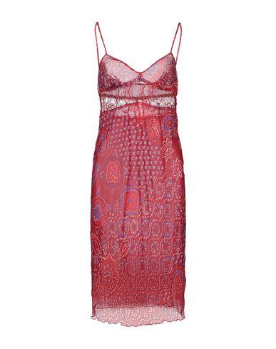 Фото - Платье до колена от ICE B ICEBERG красного цвета
