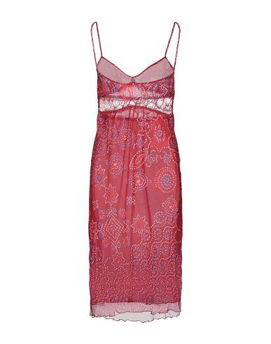 Фото 2 - Платье до колена от ICE B ICEBERG красного цвета