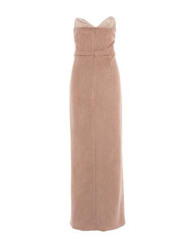 Фото 2 - Платье длиной 3/4 от SIMONA-A цвет верблюжий