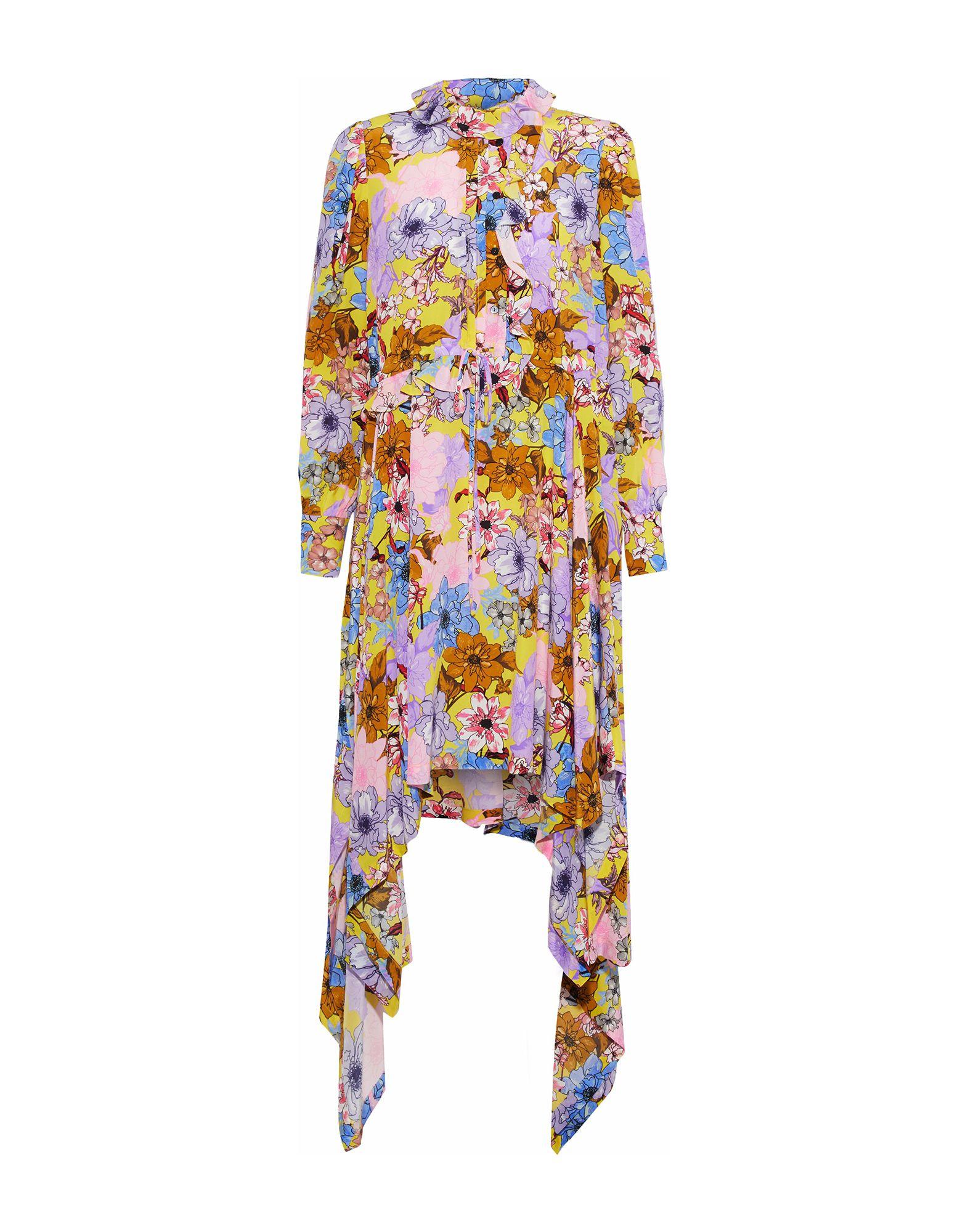 PREEN by THORNTON BREGAZZI Платье до колена топ preen