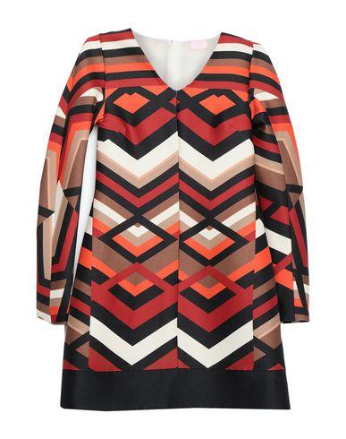 Фото - Женское короткое платье  оранжевого цвета