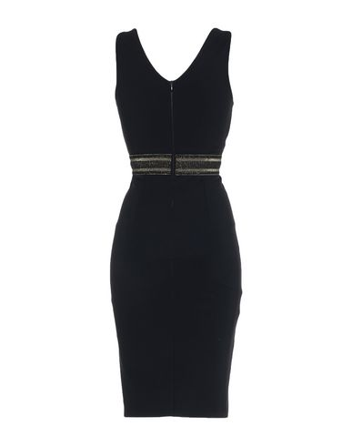 Фото 2 - Платье до колена от CHRISTIES À PORTER черного цвета