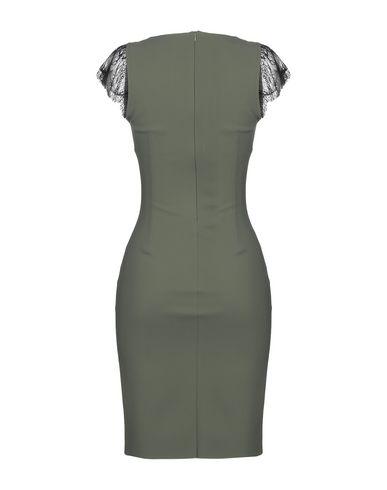 Фото 2 - Женское короткое платье CHRISTIES À PORTER цвет зеленый-милитари