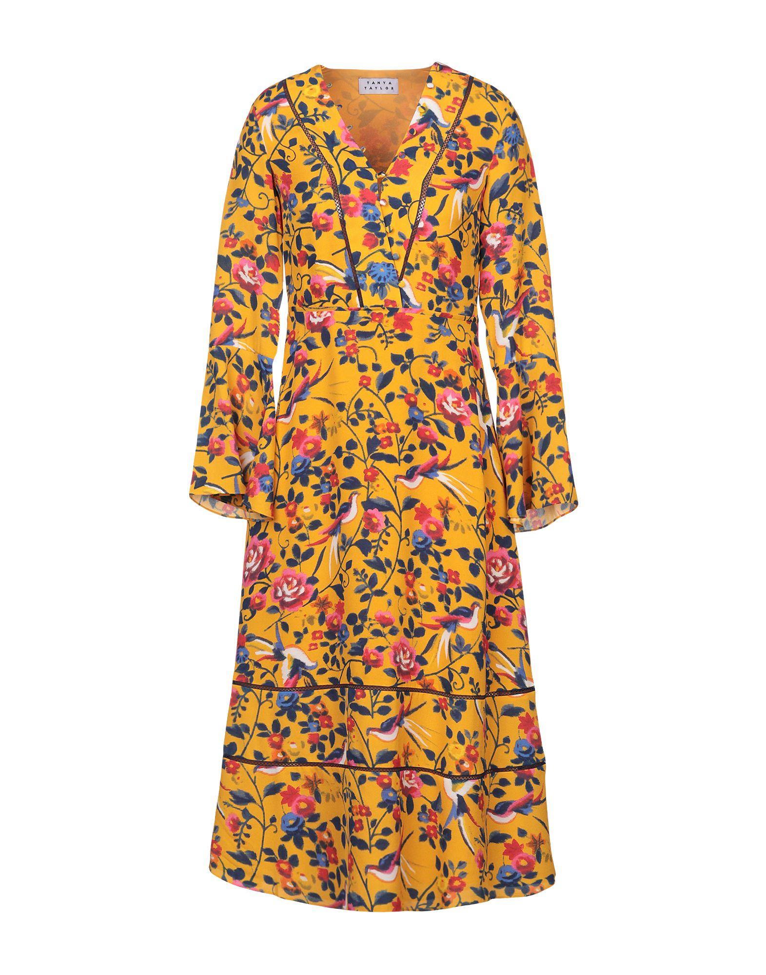 TANYA TAYLOR Платье длиной 3/4 цена в Москве и Питере